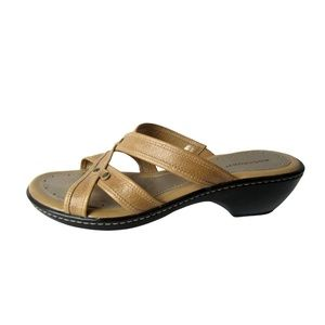 Rockport Tan Leather Sandals Size 8.5M
